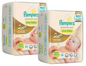 pampers bayi baru lahir