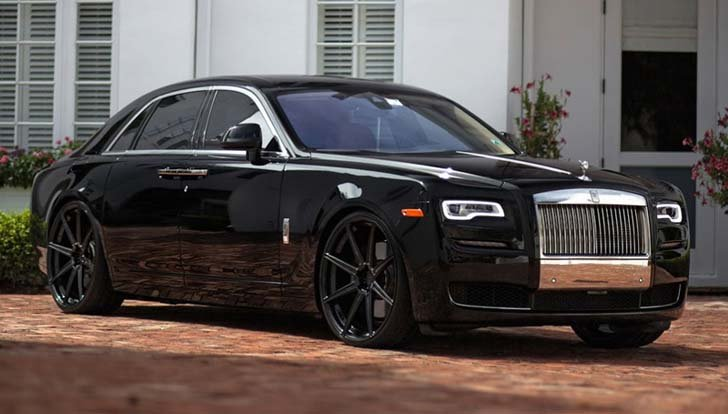 Rolls Royce Ghost indonesia
